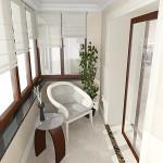 дизайн балкона квартиры