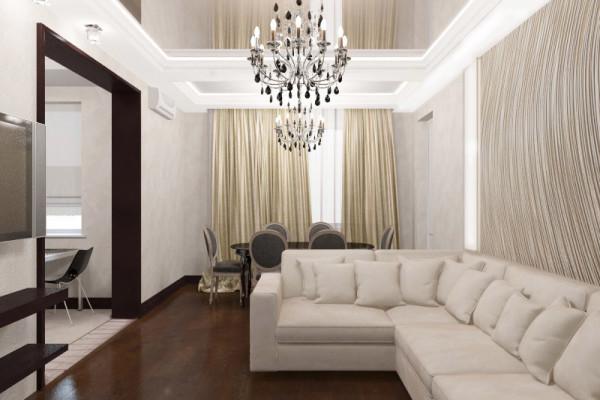Дизайн интерьера квартиры, ул. Чертановская, ЮАО