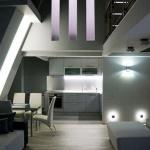 Двухуровневая квартира в стиле лофт