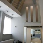 Современный дизайн квартиры в серых тонах