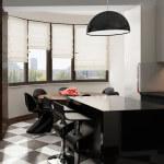 Кухня минимализм, современный интерьер