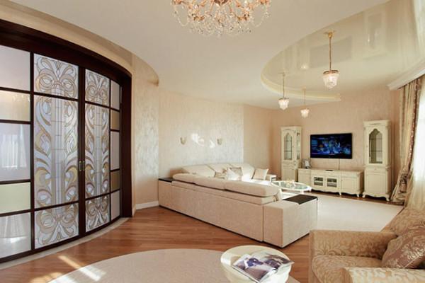 Дизайн интерьера квартиры в жилом многоквартирном доме по ул. Борисовская