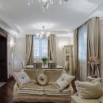 Уютная гостинная в доме