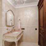 Дизайн интерьера ванной комнаты в классическом стиле фото