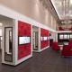 Дизайн магазина ювелирных изделий от нашей студии от нашей дизайна интерьеров