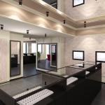Дизайн интерьера ювелирного магазина в 3д