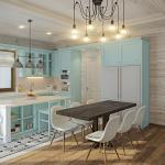 Дизайн кухни в деревянном доме фото