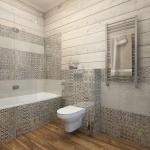 Дизайн санузла в деревянном доме фото