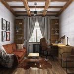 Кабинет Шерлока Холмса в деревянном доме