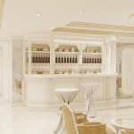 Дизайн интерьера бара ресторана