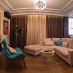 Мужская квартира - кухня совмещенная с гостиной