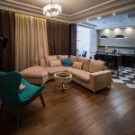 Дизайн кухни-гостиной для мужской квартиры