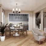 Дом из бруса дизайн