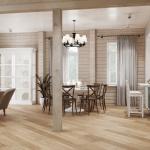 Деревянный дом светлый дизайн