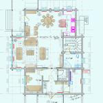 Проект планировка деревянного дома