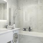 Современная ванная для мужчины