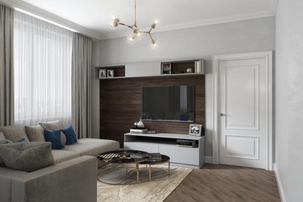 Проект квартиры ул.2-Филевская д.6, 73.1 кв.м.