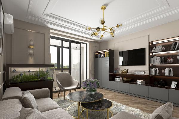 Проект квартиры ул.Чертановская 48к2